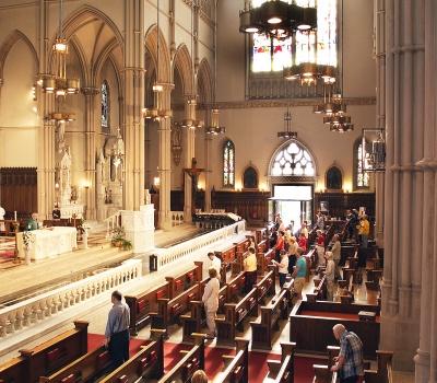 St. Paul's interior 1864
